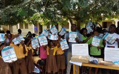 Celebrating Global Hand Washing Day in Atiwa West District